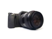 slr digital d'appareil-photo Image stock