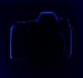 SLR Digital kamera Arkivfoto