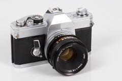 slr för 35mm kamerahandbok Arkivfoton