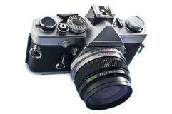 SLR Film Camera Royalty Free Stock Images