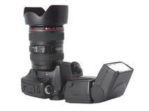 SLR-Kamera Lizenzfreies Stockfoto