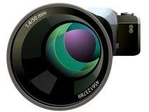 Slr kamera Zdjęcie Stock