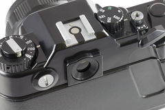 SLR-Kamera, Draufsicht Lizenzfreie Stockfotos
