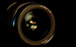 SLR Kameraobjektiv Stockfoto
