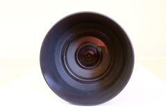 SLR Lens. A zoom lens which can be used in SLR camera Stock Photo