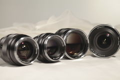 SLR Lenses Stock Photo