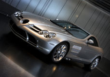 SLR Mclaren Sports Car Royalty Free Stock Photos