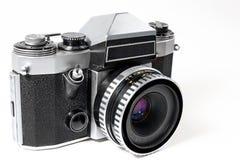 SLR mecánico viejo Fotos de archivo libres de regalías