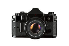 SLR 35mm film camera Royalty Free Stock Image