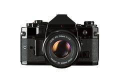 SLR 35mm filmcamera Royalty-vrije Stock Afbeelding