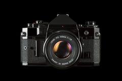 SLR 35mm filmkamera Royaltyfria Foton