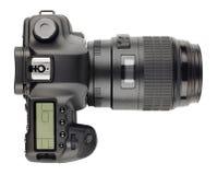 SLR nowożytna cyfrowa kamera Obrazy Stock