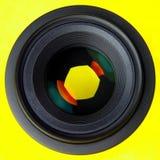 SLR Objektiv lizenzfreies stockfoto