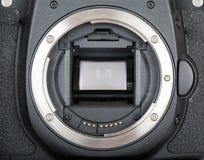 Slr photo camera bayonet royalty free stock image