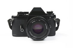 Slr photo camera - classic design Stock Image