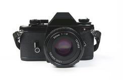 Slr photo camera - classic design. Slr photo camera, classic design stock image