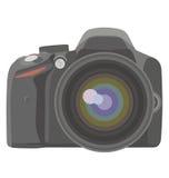 SLR photo camera Royalty Free Stock Photo