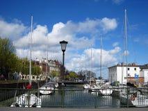 Slralsund Una vecchia città della Germania Fotografia Stock Libera da Diritti