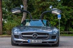 Sls AMG de Mercedes Photo libre de droits
