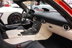 Sls AMG de Mercedes Images libres de droits