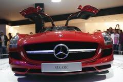 Sls AMG di Mercedes Immagini Stock Libere da Diritti