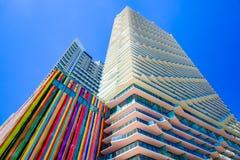 SLS Miami Brickell Architecture Royalty Free Stock Photos