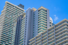 SLS Miami Brickell Architecture Royalty Free Stock Images