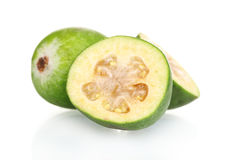 Slsed feijoa fruit, Stock Image