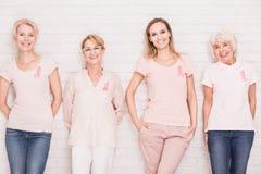 Slåss mot cancer tillsammans Royaltyfri Bild