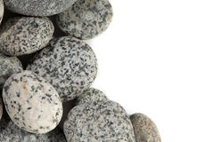 släta stenar Arkivfoto