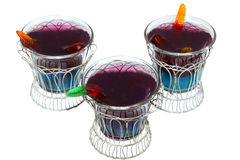 Sludge Cups with Clipping Path Stock Photos