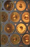 Slug window. In a medieval building in Germany Royalty Free Stock Photos