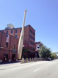 Slugger Bats Museum. Mobile phone image. Stock Photos