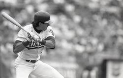Slugger Jose Canseco dos Oakland Athletics fotos de stock royalty free
