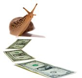 Sluggish Economy Royalty Free Stock Photo