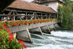 Sluice Bridge Stock Images