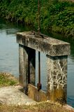 Sluice gate Royalty Free Stock Images