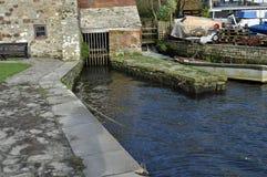 Sluice gate Royalty Free Stock Image