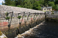 Sluice Gates, Loch Fleet Royalty Free Stock Images