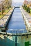 Sluice near Gdansk, Poland - Sobieszewo Island Royalty Free Stock Photos