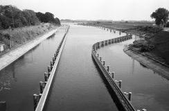 Sluice in Przegalina. Stock Photos