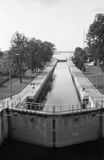 Sluice in Przegalina Royalty Free Stock Image