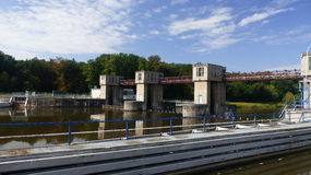 Sluice. On river Labe - CPL Stock Photos