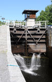 Sluice Varistaipale Royalty Free Stock Photo