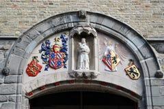 Sluis belfry Stock Images