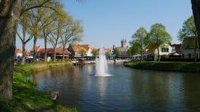 Sluis a placé chez Zeelande dans Nederland photos stock