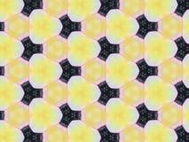 Sluit achtergrond van de het patroontextuur van de caleidoscoopkunst omhoog de abstracte Stock Fotografie