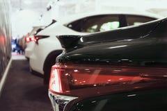 Sluit Lexus-omhoog autodetail bij motorshow royalty-vrije stock fotografie