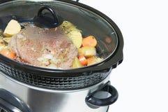 Sluit maaltijd omhoog het koken. royalty-vrije stock foto's