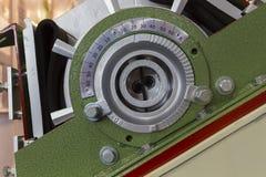 Sluit machine van de Dwarsdoorsnede de drijvende kracht omhoog geschotene ontploffing stock afbeelding